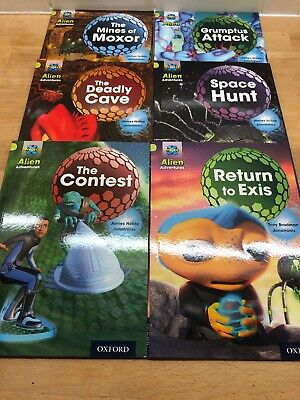 Project X Alien Adventures Book Band 11 Lime Oxford Level 11 X6 Books