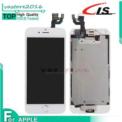 DISPLAY LCD Apple iPhone 6 6G Assemblato COMPLETO Fotocamera Altoparlante Buton