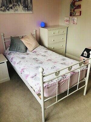 Girls Next Bedroom Furniture, Bed, Toy Box, Chester Drawers, Dolls House