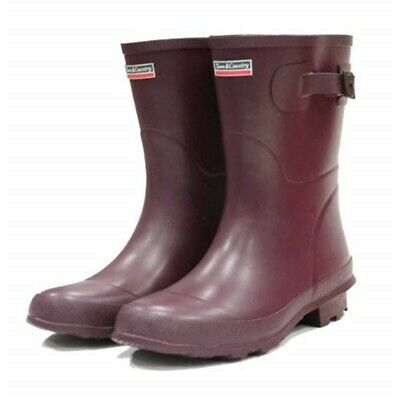 Town And Country Bradgate Short Boots Aubergine, Size 6
