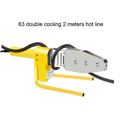 220V Electric Hot Welding Machine Heating Tool PPR PE PP Tube Pipe Welding