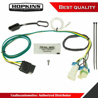 HOPKINS TOWING SOLUTION 41135 Plug-In Simple Vehicle To ... on trailer plugs, trailer brakes, trailer generator, trailer fuses, trailer hitch harness, trailer mounting brackets,