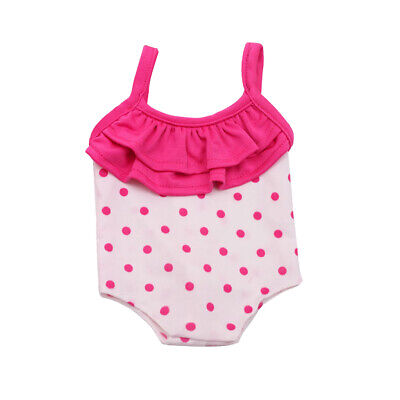 Handmade Doll Summer Swimsuit Clothes For 18 Inch w// Doll Swimsuit Kids Gir X6I9