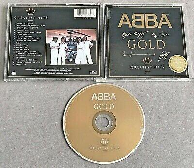 ABBA - GOLD: GREATEST HITS * * 1999 Limited Edition Signature Issue CD Album