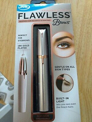 JML Finishing Touch Flawless Brows Eyebrow Shaper Hair Remover Pain Free