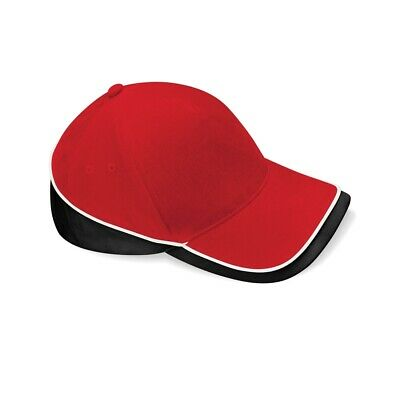 Beechfield Teamwear Competition Cap Classic Red/black/white O/s