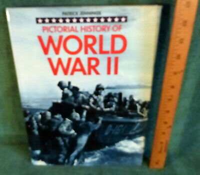 LG BOOK- PICTORIAL HISTORY OF WWII by PATRICK JENNINGS