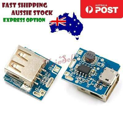 2x 5V 1A Power Step-Up Module Lithium Battery Charging Protection Boost Charger