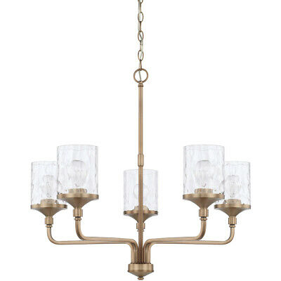 Capital Lighting Fixtures 428851AD-451 Colton Chandelier Aged Brass
