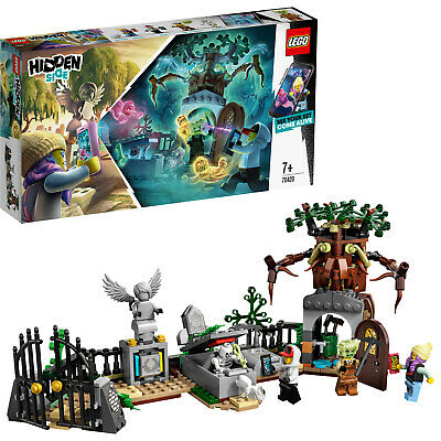 LEGO Hidden Side 70420 Geheimnisvoller Friedhof 4 Minifiguren  N8/19