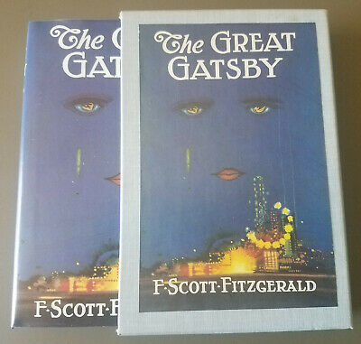The Great Gatsby by F Scott Fitzgerald FEL (First Edition Library) w/In-LaidCard