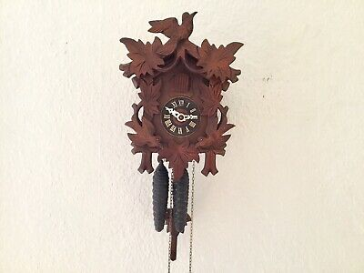 Black Forest German Cuckoo Clock, Fully Serviced