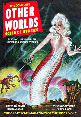 COMPLETE OTHER WORLDS - 69 Digital issues on DVD