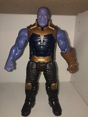 "Marvel Avengers Infinity War Thanos 12"" Hero Series Hasbro 2017 Figure Endgame"
