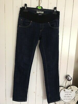 Ladies Topshop Moto Maternity Baxter Under Bump Stretch Skinny Jeans Size 10