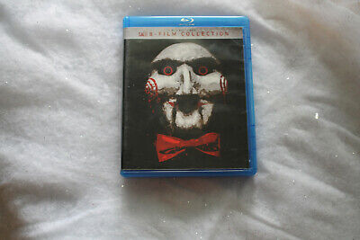 Saw all 8 Film Collection Blu-ray & Dvd 9 Disc SET Unrated Complete Set