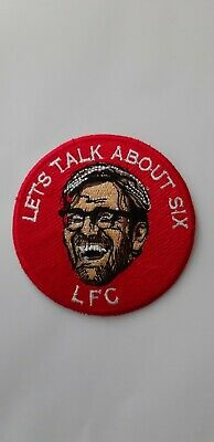 3 Inch Jurgen Klopp LFC Liverpool FC Embroidery Iron Or Sew On Patch Badge