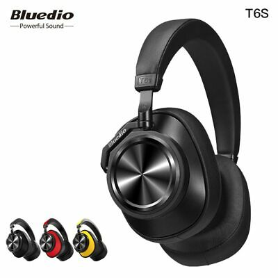 Bluedio T6S Bluetooth 5.0 Headphones Wireless Headset Active Noise Cancelling