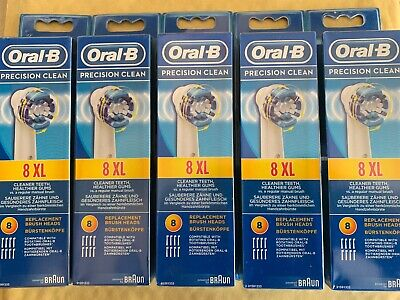 Oral-B Braun Precision Clean Replacement Toothbrush Heads X40(Without Packaging)