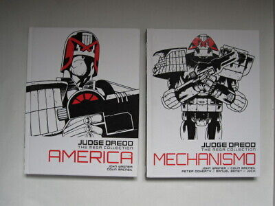 Judge Dredd - The Mega Collection No 1 America and No 24 Mechanismo