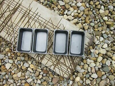 Metal Soap Mold- Removable Bar or Loaf Trays for Soap Making