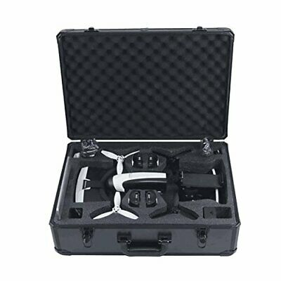 HUL Aluminum Carrying Case for Parrot Bebop 2 FPV and Skycontroller 2 with VR Go