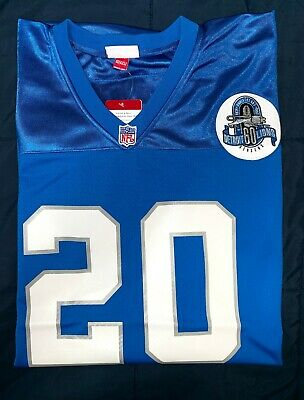 promo code fcbf6 ff90c AUTHENTIC BARRY SANDERS Mitchell & Ness Jersey - $70.00 ...