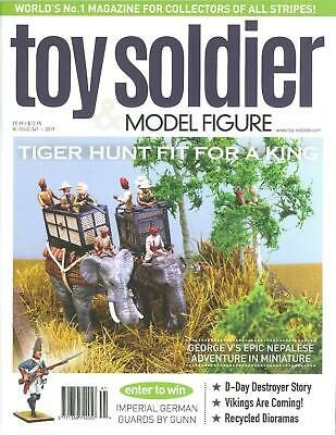 Toy Soldier & Model Figure Magazine Issue 240 Tiger Hunt Fit For A King