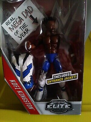 Mattel WWE Elite Series 43 Smack Down Kofi Kingston ACTION FIGURE NEW