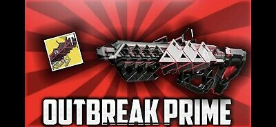 Destiny2 Outbreak Prime Exotic Pulse Rifle Full Quest Complete (PS4/XB1/PC)