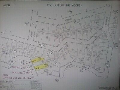 Frazier Park CA (Kern Co.) LAKE OF THE WOODS Bidding begins at $ 695 NO RESERVE