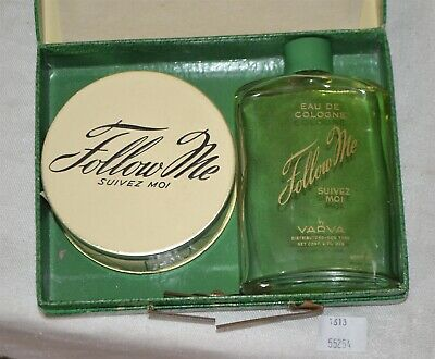 ThriftCHI ~ Follow Me Travel Kit By Varva Suivez Moi Cologne & Powder