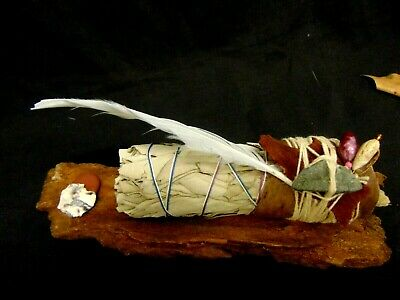 Pagan White Sage Altar Ritual Smudge Stick