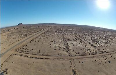 Flat Residential Land With Road Access In California City, CA