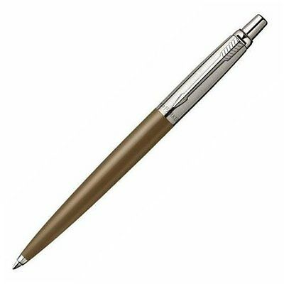 Parker Jotter Coffe Brown Spice & Stainless Steel Ballpoint Pen New In Box