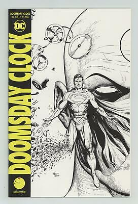 Doomsday Clock (DC) 1D 2018 Frank Midnight Release Variant NM- 9.2
