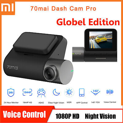 Xiaomi 70mai Dash Cam Pro ADAS Voice Control 1944P Smart Car DVR Camera Recorder