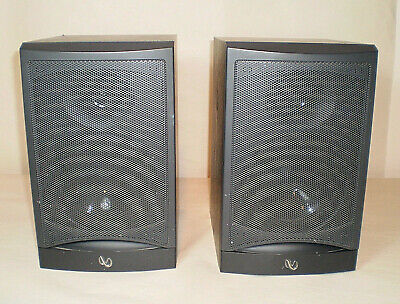 Infinity Reference 2000.1 Bookshelf Speakers-Black-10.5 Inches High-15 To 100 Wt
