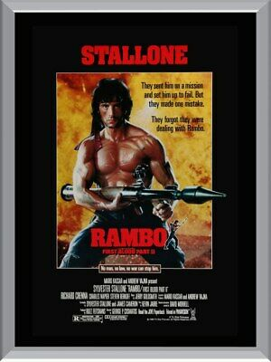 Rambo 2 Movie A1 To A4 Size Poster Prints