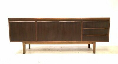 Vintage Retro Mid Century 1960s MORRIS of GLASGOW 6.5ft Walnut Sideboard Cabinet