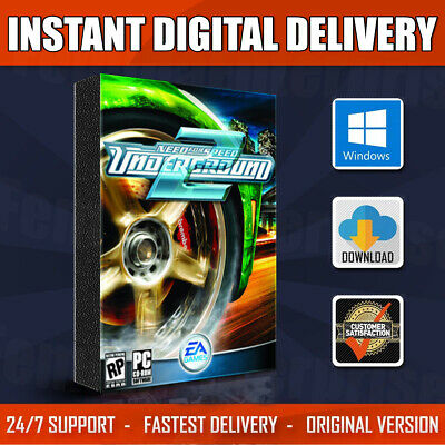 Need For Speed: Underground 2 Full Version For Pc 2004   Instant Digital Downlod