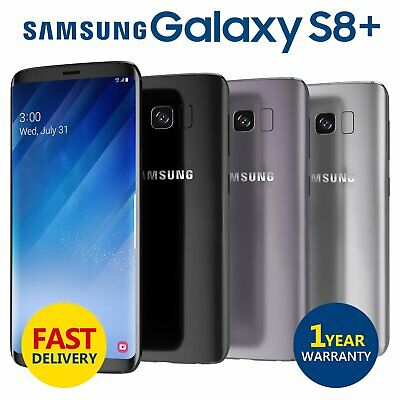 Samsung Galaxy S8+ Plus 64GB 4G LTE Unlocked Mobile Phone Various Colours