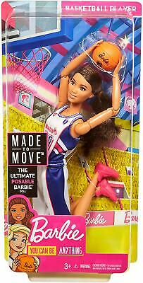 Barbie  Made to Move BASKETBALL PLAYER - New