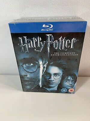Harry Potter The Complete 8 Film Collection Blu Ray BOX SET New & Sealed