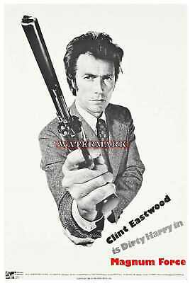 Dirty Harry Magnum Force Classic Repro Movie Poster Like A1 / 7644