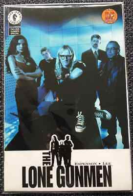 The Lone Gunmen Special #1 Dynamic Forces Photo Variant (Dark Horse 2001) NM