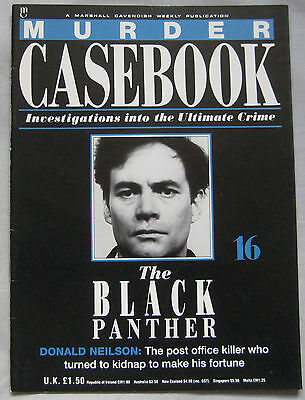 Murder Casebook Issue 16 - The Black Panther: Donald Neilson