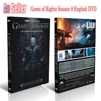Brand New Sealed Brand Game Of Thrones DVD Box Sets The Complete Season AU Stock