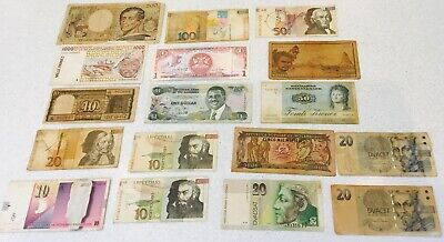 Job lot of World Banknotes