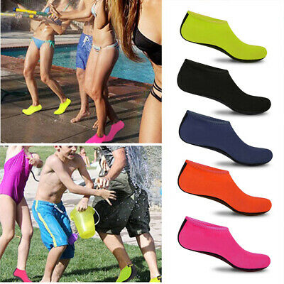 Adults Kids Barefoot Water Skin Shoes Aqua Socks for Beach Swim Surf Yoga S-3XL